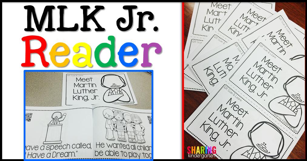 MLK Jr. Lesson in Kindergarten