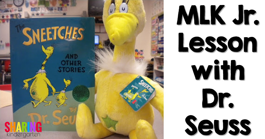 MLK Jr. Lesson with Dr. Seuss