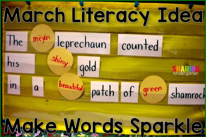 St. Patrick's Day Literacy Idea