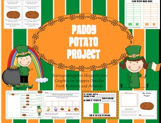 Paddy Potato Project Freebie