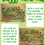 Buggy Word Wall and More!