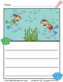 Ocean Writing Prompt Freebie