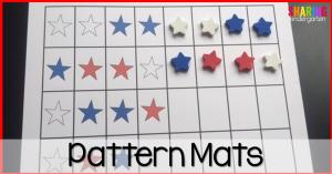 Freebie pattern mats