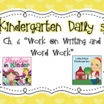 Kindergarten Daily 5- Chapter 6