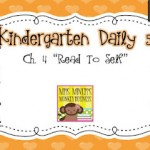 Kindergarten Daily 5 Book Study- Chapter 4