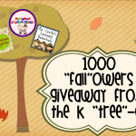 "1000 ""Fall""owers Giveaway from the K ""Tree""-o!"