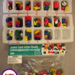 Letter Bead Storage Tip