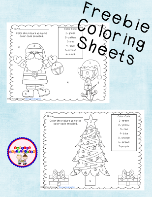 freebie coloring sheets with a polar expresss theme