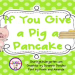 Daily 5 Using If You Give a Pig a Pancake