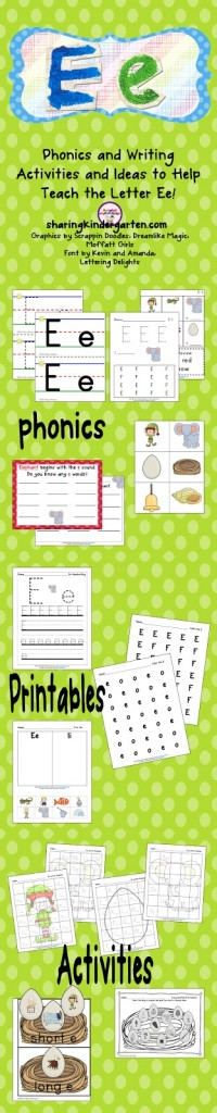 Ee Phonics Freebie
