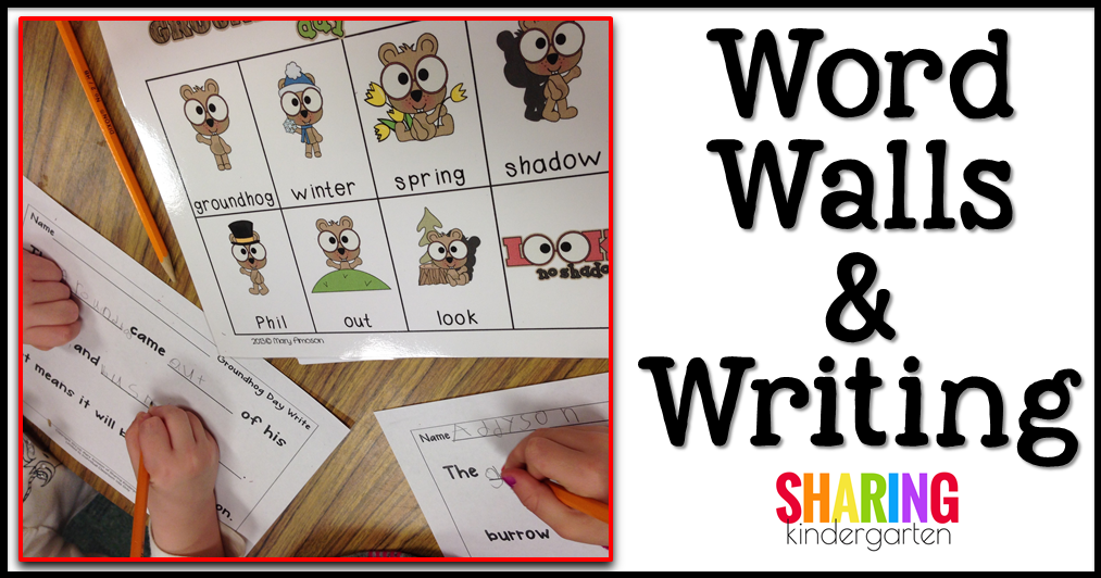 Word Walls & Writing