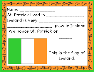 St. Patrick's Day Chart