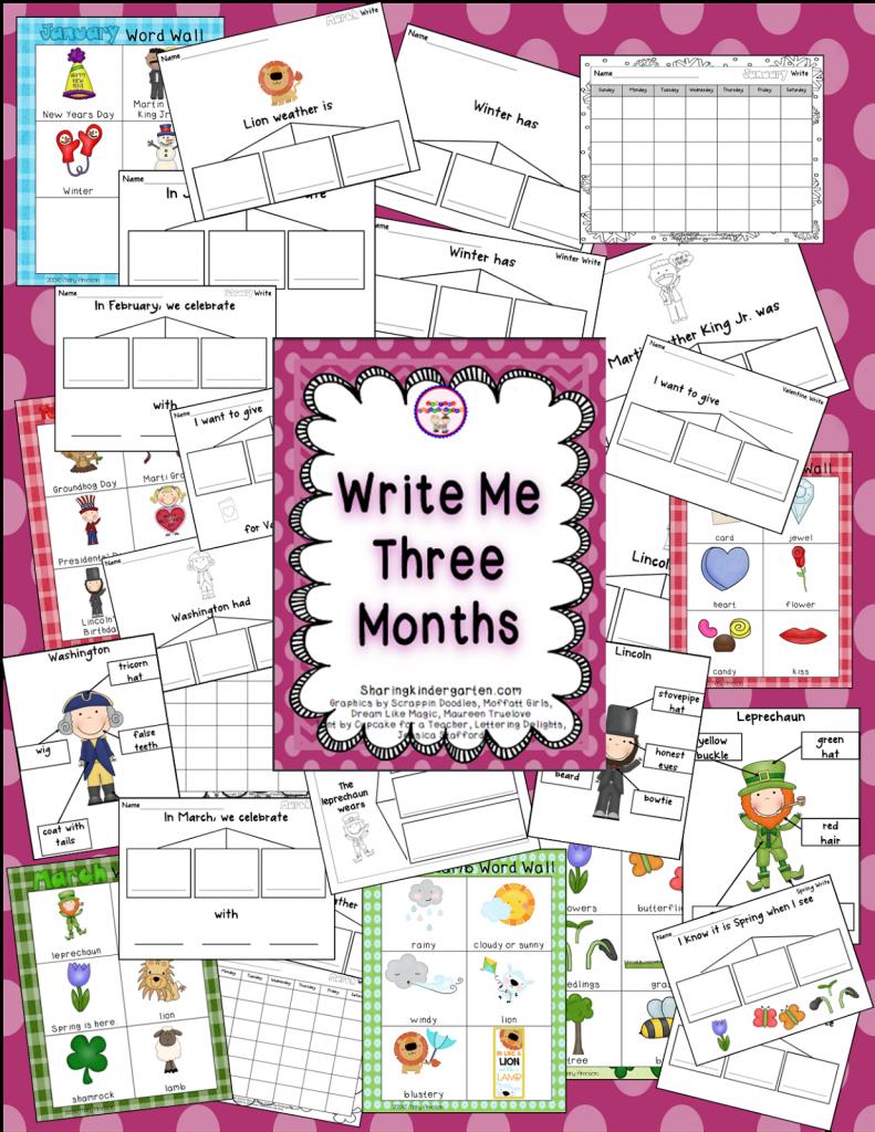 https://sharingkindergarten.com/product/monthly-writing/