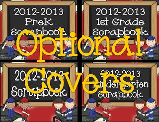Digital Scrapbook Covers