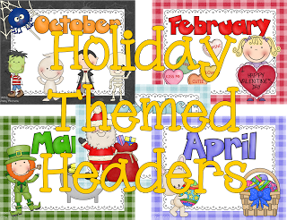 Digital Scrapbooks Holiday Themed Headers