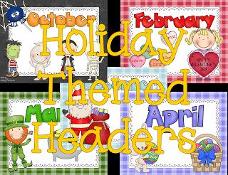Digital Scrapbooks Holiday Themed Headers