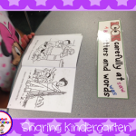 Pictures of Learning and Long Vowels Freebie