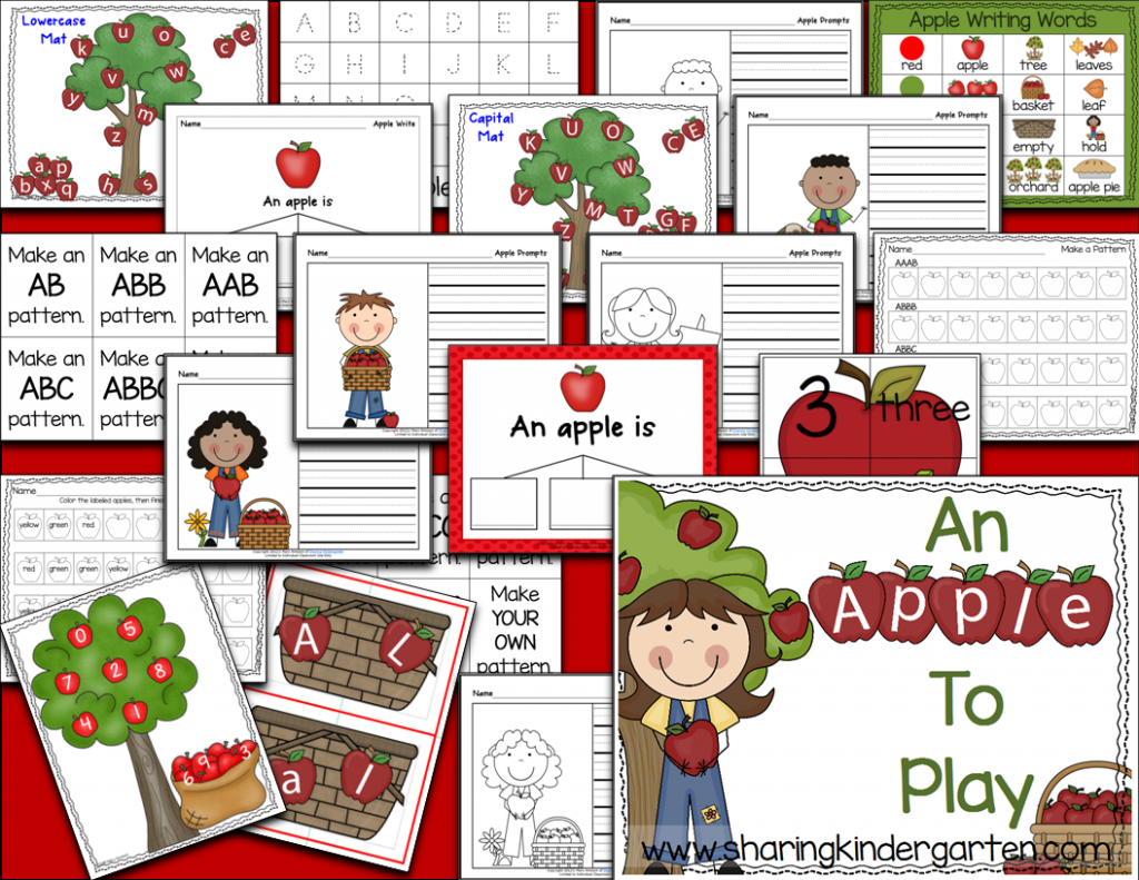 http://www.teacherspayteachers.com/Product/An-Apple-To-Play-Print-Play-Pack-256149