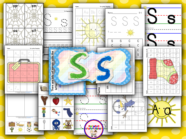 Letter Ss
