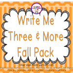 Write Me Three Fall Pack with a FREEBIE