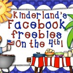 Kinderland's Freebies on the 4th!