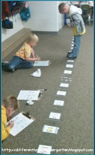 Number line ideas sharing kindergarten for Floor number line