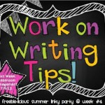 Summer Linky Party- Writing