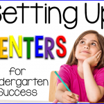 Setting up Centers for Success