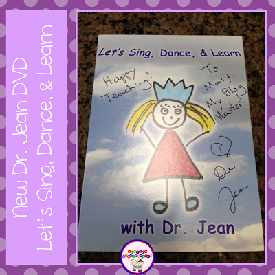New Dr. Jean DVD and a FREEBIE you will LOVE.