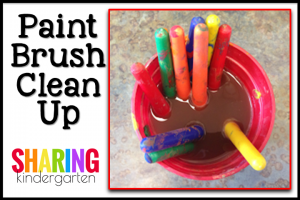 Paint Brush Clean Up Tip