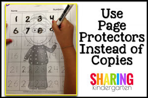 Use a Page Protector Instead of Copies