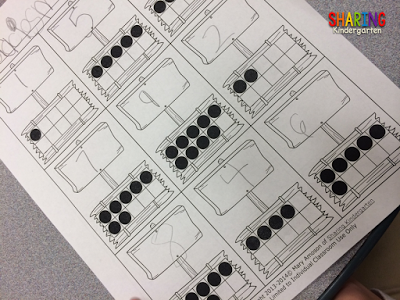 Check out this type of ten frame activity.