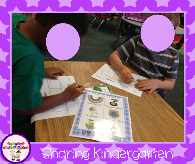 Writing strategy for Kinders