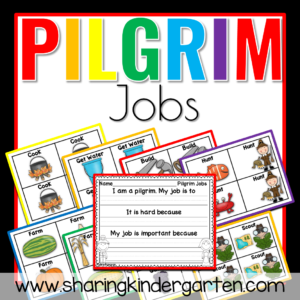 Pilgrim Jobs writing pack