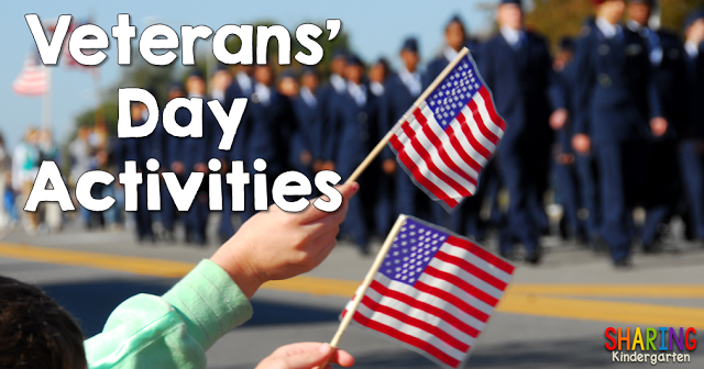 Veterans' Day Activities for Kinders