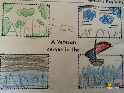 art to learn types of veterans activity for little learners