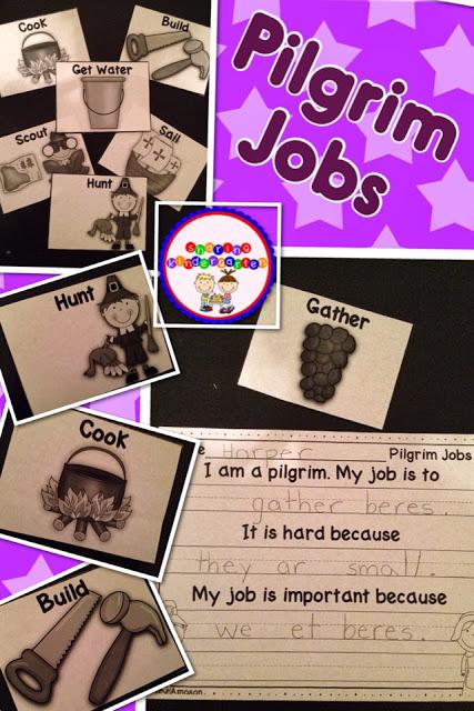 Pilgrim Jobs Writing Activity