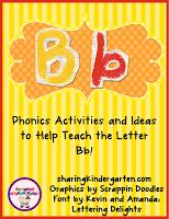 http://www.teacherspayteachers.com/Product/Bb-Activities-454523