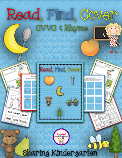 http://www.teacherspayteachers.com/Product/Read-Find-Cover-CVVC-Rhyme-1031217