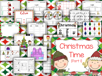 Christmas Time Activities for Little Learners