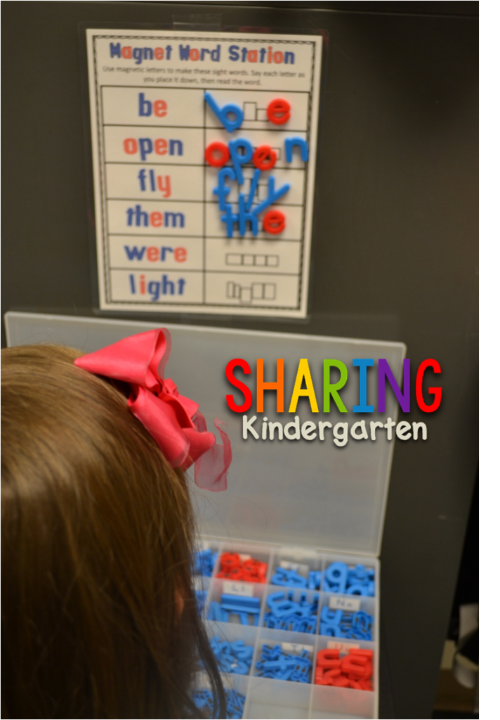 magnetic word station