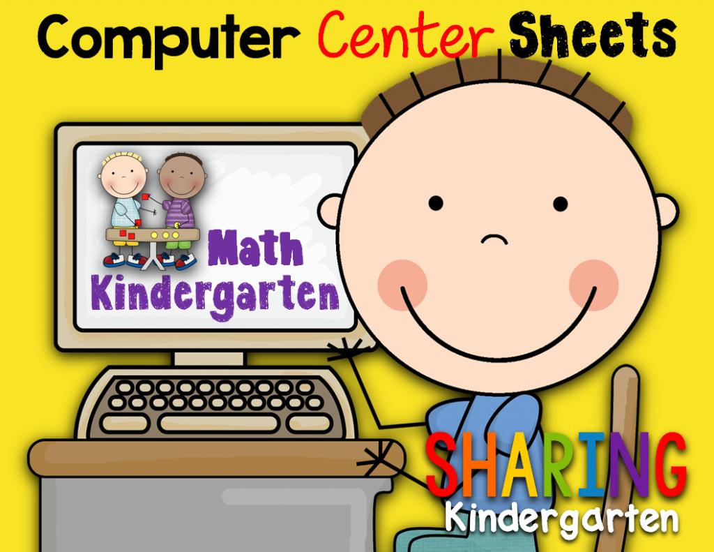 http://www.teacherspayteachers.com/Product/Computer-Center-Sheets-KindergartenMath-1085442