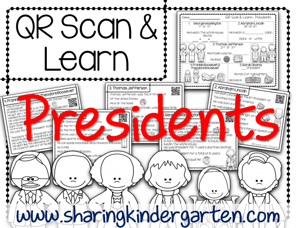 http://www.teacherspayteachers.com/Product/QR-Scan-Learn-Presidents-1105478