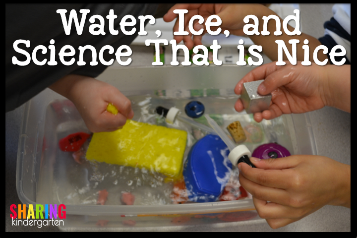 Water, Ice, and Science That is Nice