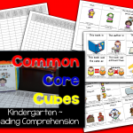 Common Core Cubes~ Reading Comprehension