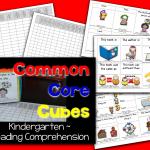Common Core Cubes~ Reading Comprehension