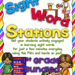 More About Sight Word Stations~First Grade
