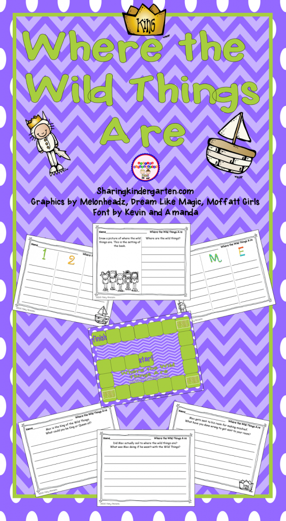http://www.teacherspayteachers.com/Product/Where-the-Wild-Things-Are-Game-and-Writing-Prompts-582704