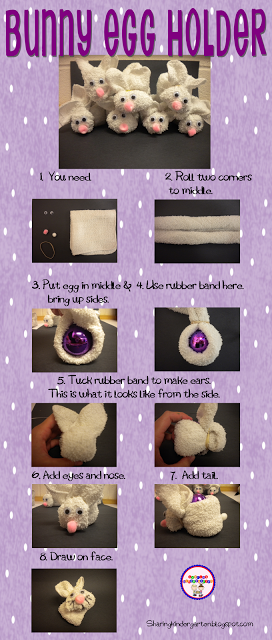 How to make BUNNY EGG HOLDERS