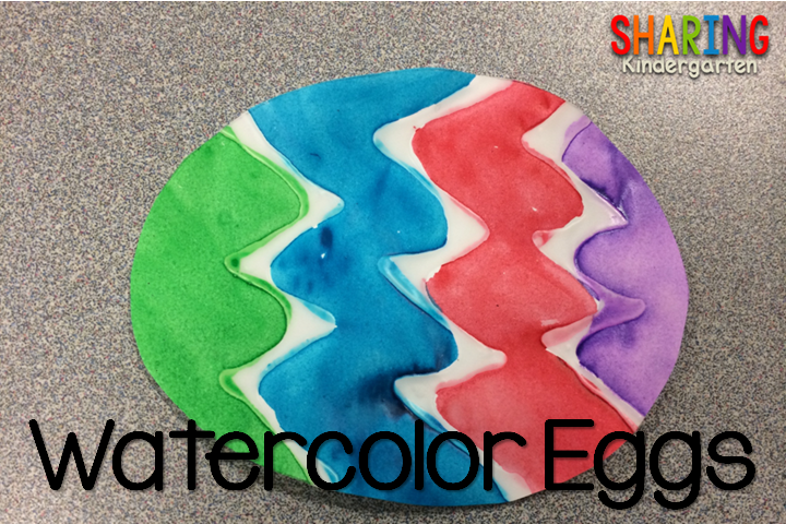 Watercolor Eggs Art
